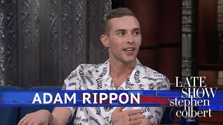 Adam Rippon Won An Olympic Medal And Lost A Shirt Button