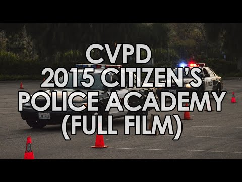 2015 CVPD Citizen's Academy Film (Full Version)
