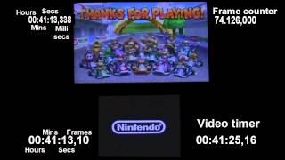 Mario Kart 7 in 1:22:22.6 (Single Segment / No-Glitches / World record)