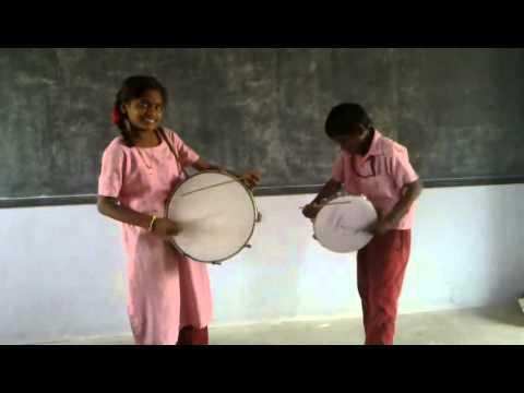 A Sound from thappu  Tamilnadu