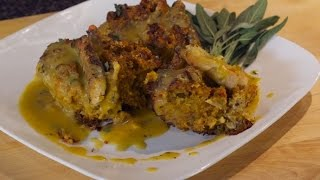 Chicken Butternut Squash Dressing With Sage Gravy