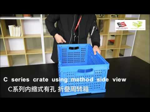 Folding Type Crate | Foldable box-SINO GROUP