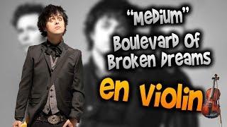 Boulevard Of Broken Dreams En Violín Tab Tutorial Partitura Como Tocar HD Tutorial