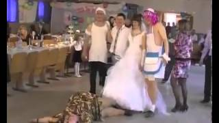 Бабка жжет  Прикол на свадьбе!