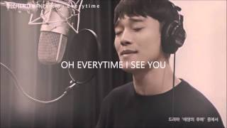 Everytime - Chen (EXO) X Punch (Descendants of the Sun OST Part 2) [Han,Rom,Eng] Lyrics