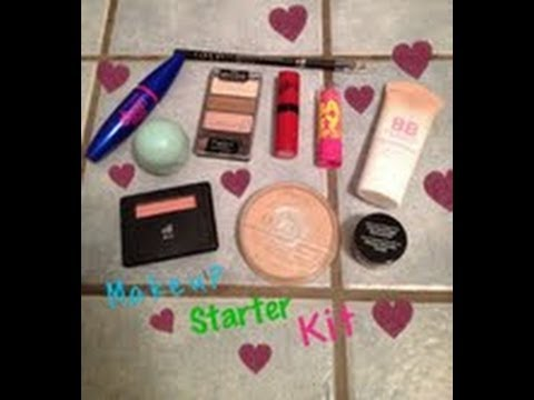 makeup starter kit  youtube