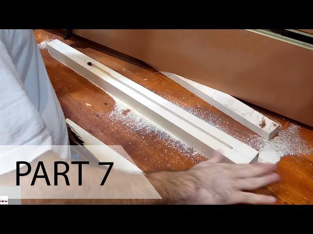Guitar build - 07 - Neck Blank & Trussrod Channel