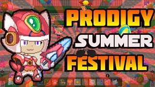 *BRAND NEW* Summer Festival EVENT in Prodigy Math Game