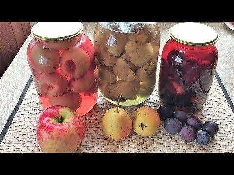 410. Простой рецепт компота из фруктов