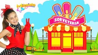 MILENINHA - SORVETERIA 🍦🍨(Clipe Oficial) Mileninha - 8 anos