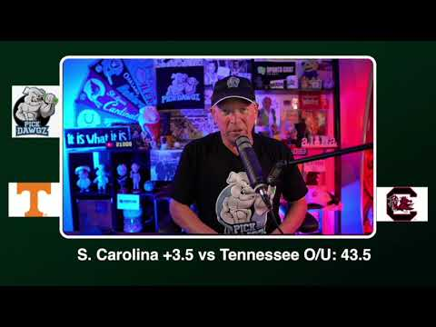 South Carolina vs Tennessee Free College Football Picks and Predictions CFB Tips Saturday 9/26/20