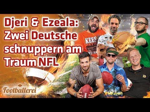 Djeri & Ezeala: Zwei Deutsche schnuppern am Traum NFL | Footballerei SHOW