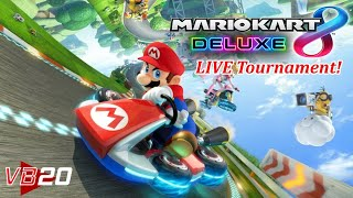 Mario Kart 8 Deluxe Live Tournament - Winner Receives Free eShop Game!