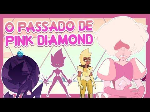 O PASSADO DA PINK DIAMOND (Teoria) - Steven Universo