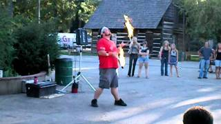 Spike the Juggler at the Plumas Sierra County Fair 2011