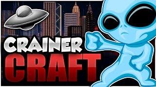 minecraft alien invasion in my world   crainer craft