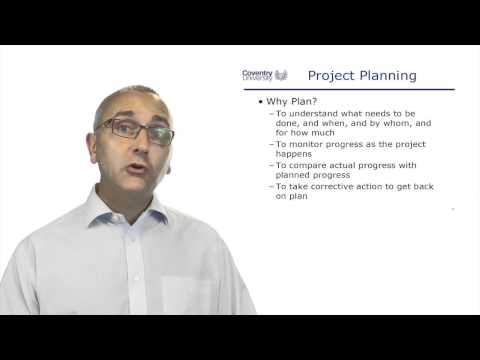 3.10 Summary of Project Planning I