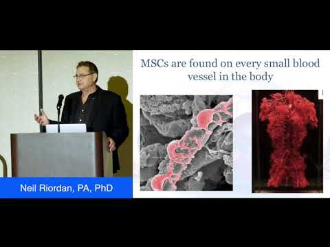 Stem Cells: Their Role In Aging And In The Treatment Of Chronic Diseases - Neil Riordan, PA, PhD