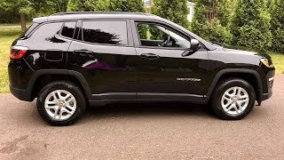 2018 Jeep Compass Sport - 6 speed manual review!