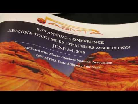 Arizona State Music Teachers Association Promo