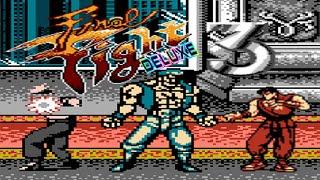 FINAL FIGHT 3 DELUXE (Unl) (NES Pirate) - NES Longplay - 2 Players Guy & Dean (Complete Walkthrough)