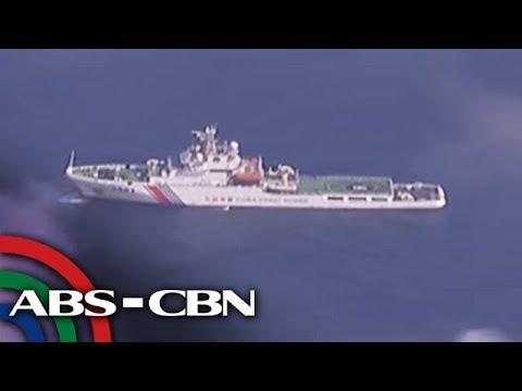 Military Planes Sa West PH Sea Pinutukan Ng Flares Ng Mga Barkong Tsino   TV Patrol