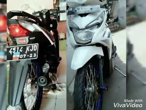 Motor Honda Beat Modifikasi Jari Jari Youtube