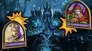 Beating the Lich King with the Worst Deck? IMPOSSIBLE! (KFT Frozen Throne)
