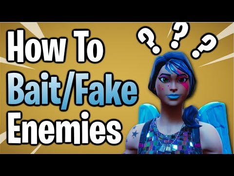 Fortnite: How To Fake/Trick Your Opponents | 3 Easy Methods!
