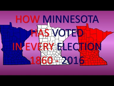How Minnesota has voted in every Presidential Election