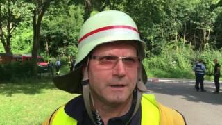 Absturz eines Hubschraubers in Senheim am 26.7.2016