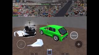 Car Crushers 2 Derby FFA/ROBLOX