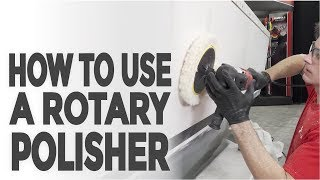 Learn How to Buff Your Boat with a Rotary Polisher!