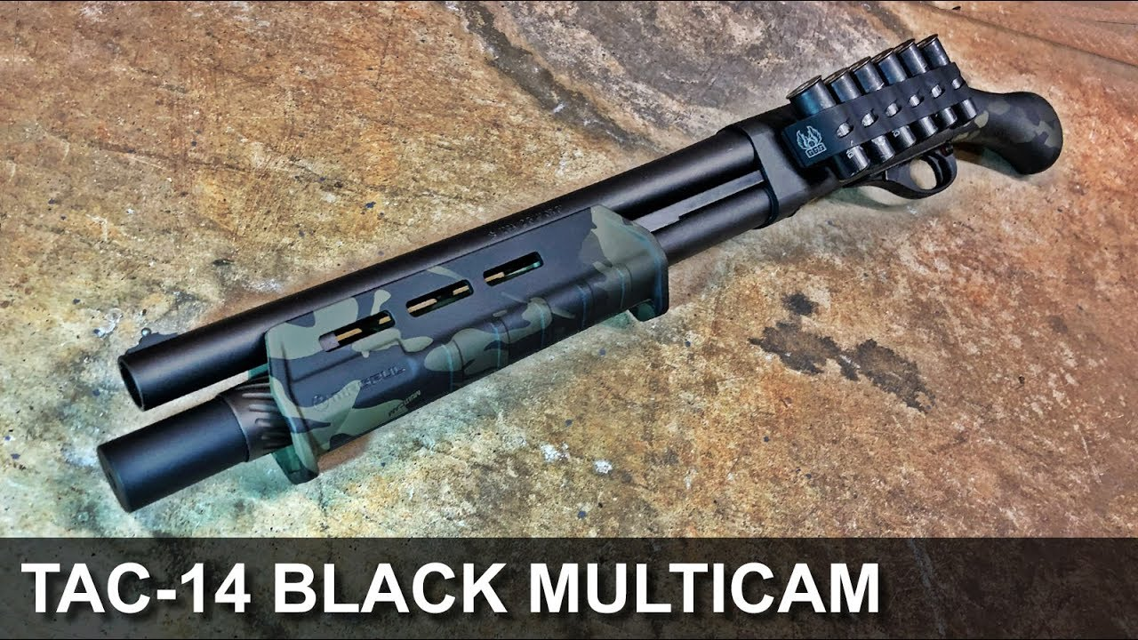 Black Multicam Tac-14