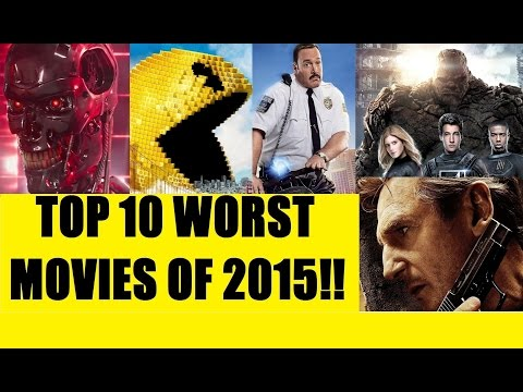 My Top 10 Worst Movies of 2015!! (with a lot of Ranting)