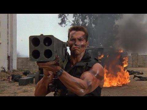 Commando 1985  Arnold Schwarzenegger, Rae Dawn Chong, Dan Hedaya.