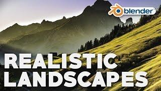 Easy Realistic Terrain (Part 1 - ANT Landscapes)