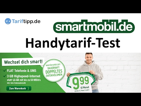 Test: Handytarife von smartmobil.de