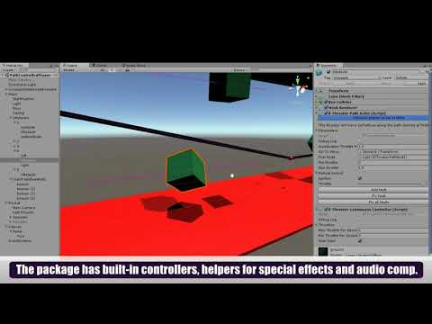B Propulsion System v1.2 - Path Thrusters (move Unity3D GameObjects along a line)
