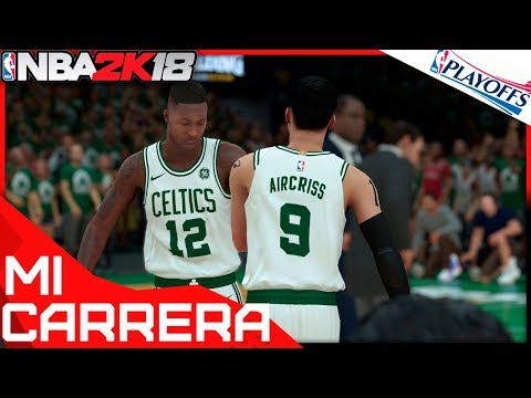 ¡EN DIRECTO! NBA 2K18 PS4 MI CARRERA PLAYOFFS - AIRCRISS #53