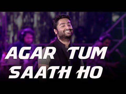 Agar tum saath ho ❤️ Arijit Singh | Amrita Singh | Live | Tamasha