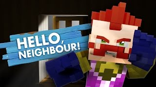 Minecraft HELLO NEIGHBOUR - THE NEIGHBOUR SPEAKS!