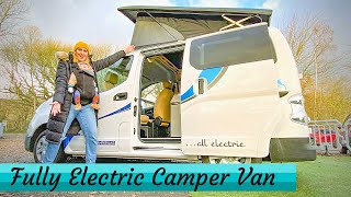 The **ALL ELECTRIC** Camper Van - Sussex Campervans Nissan E-NV200