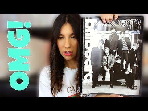 BTS (방탄소년단) Billboard Magazine Unboxing Reaction