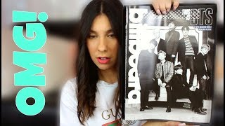 BTS (방탄소년단) Billboard Magazine Unboxing Reaction