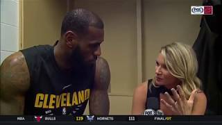 LeBron James Postgame Interview After Cavs Loss Against Pacers