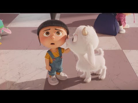 Despicable Me 3 - Agnes & Unicorn Goat Cute