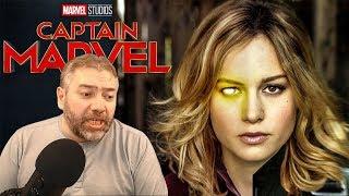 Злобные тролли бомбят Капитан Марвел на Rotten Tomatoes (якобы)