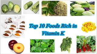 Top 10 Foods Rich in Vitamin K