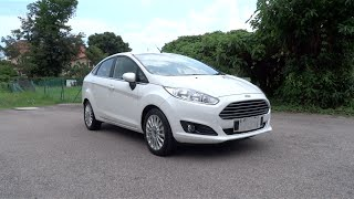 2014 Ford Fiesta Titanium Start-Up, Full Vehicle Tour, and Test Drive